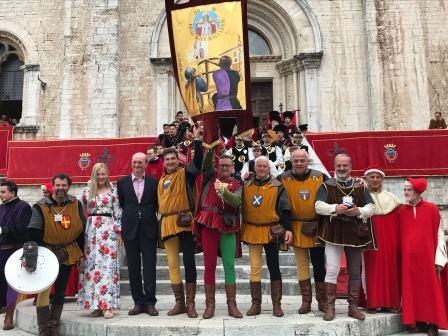 I vincitori del Palio della Balestradi Gubbio 2018 - MBfotopress