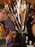 Estrazione delle frecce dal corniolo