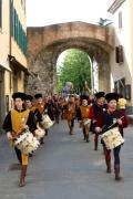 tamburi e corteo da porta fiorentina - MBfotopress